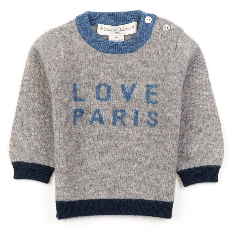 pullover Love Paris