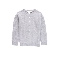 Ribbed pullover Gaspard - Grey